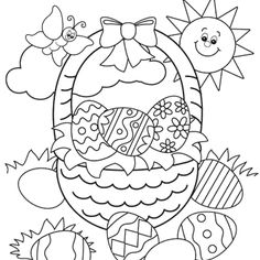 Fun Easter Coloring Pages at GetDrawings.com | Free for ...