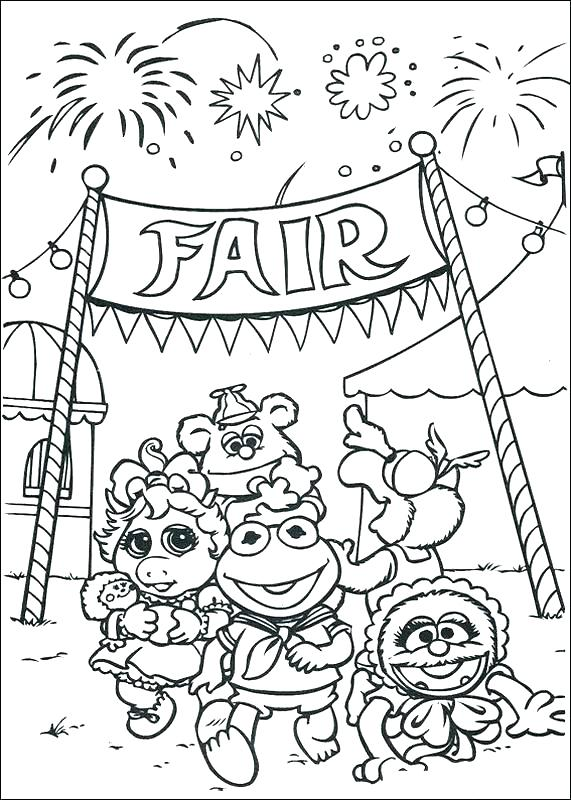 571x800 Fair Coloring Pages County Fair Coloring Pages County Fair