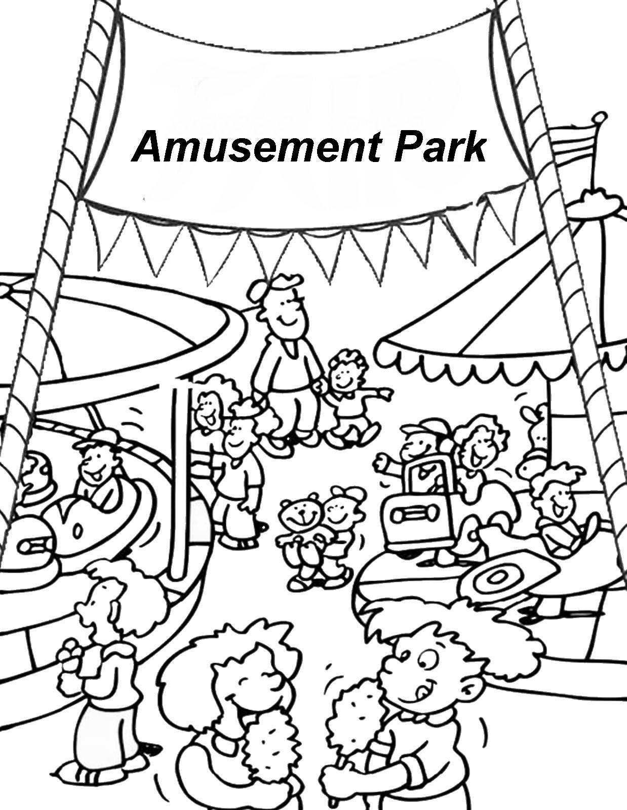 Fun Fair Coloring Pages At Getdrawings Free Download