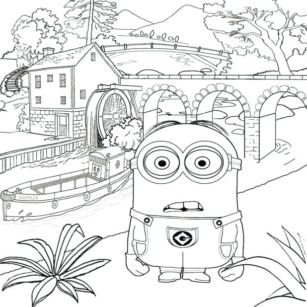 618x618 Summer Fun Coloring Pages At The Funfair Colouring Page Preschool