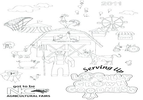 476x333 Coloring County Fair Coloring Pages