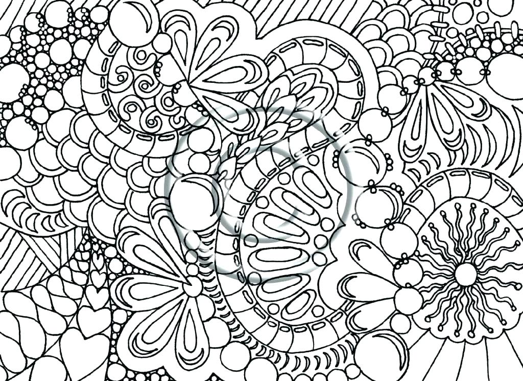 1024x745 Abstract Printable Coloring Pages Adults Abstract Coloring Pages