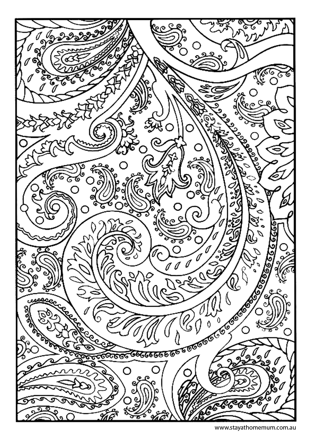1033x1462 Printable Colouring Pages For Kids And Adults