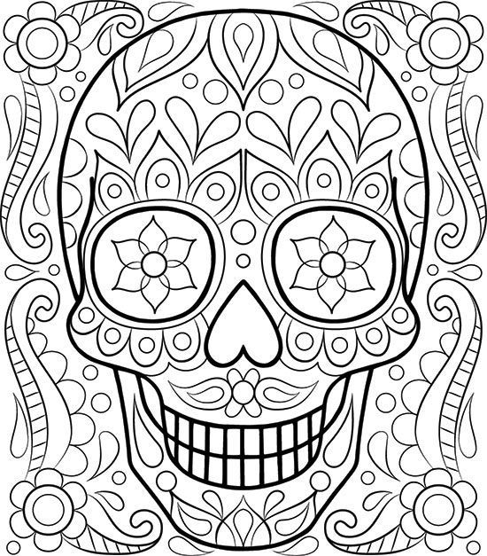 550x627 Free Printable Coloring Pages Adults Best Adult Coloring Pages