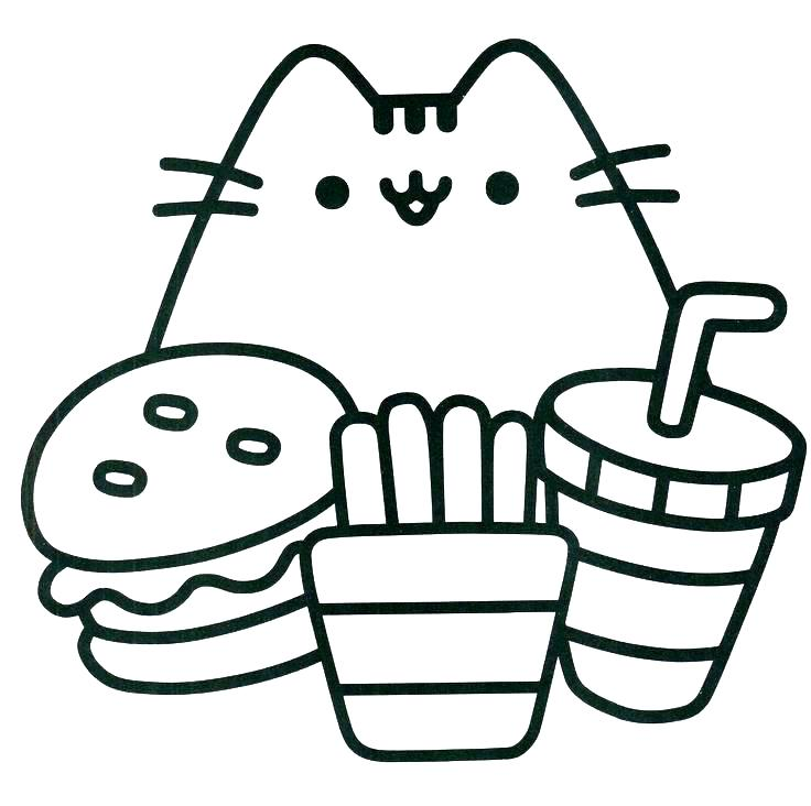 736x732 Funny Cat Coloring Pages Happy Kitten Coloring Page Coloring Page