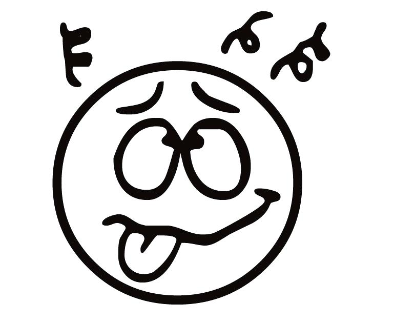 810x630 Funny Faces Coloring Pages Printable Emotions Colouring Pages