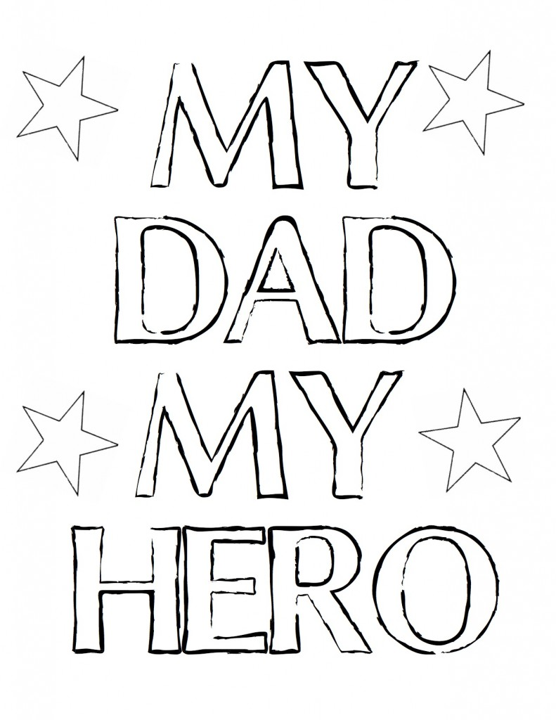 791x1024 Fathers Day Coloring Pages