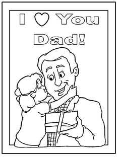 236x314 Fathers Day Coloring Page Father's Day Coloring Pages, Cards