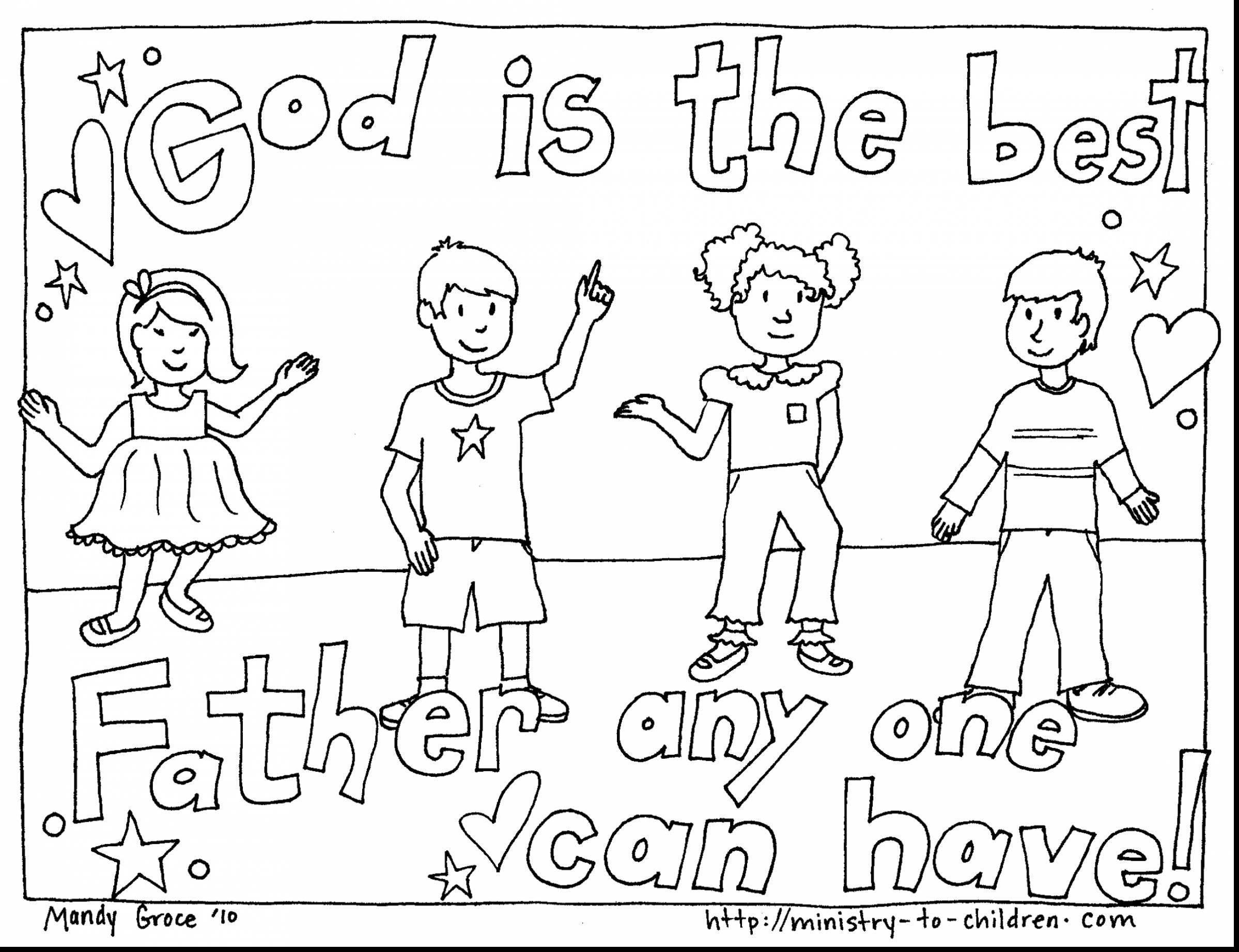 2398x1843 Good Christian Father Day Coloring Pages With Happy Fathers