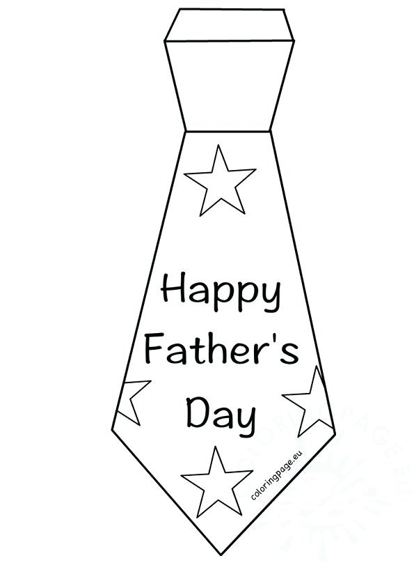 595x808 Tie Coloring Page Fathers Day Relax Coloring Page Fun Fathers Day