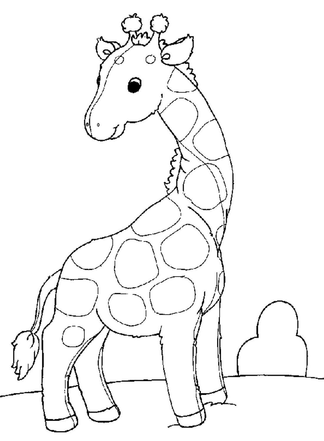 1101x1497 Babyaffe Colouring Pages Printable Coloring Cute Color Marvelous