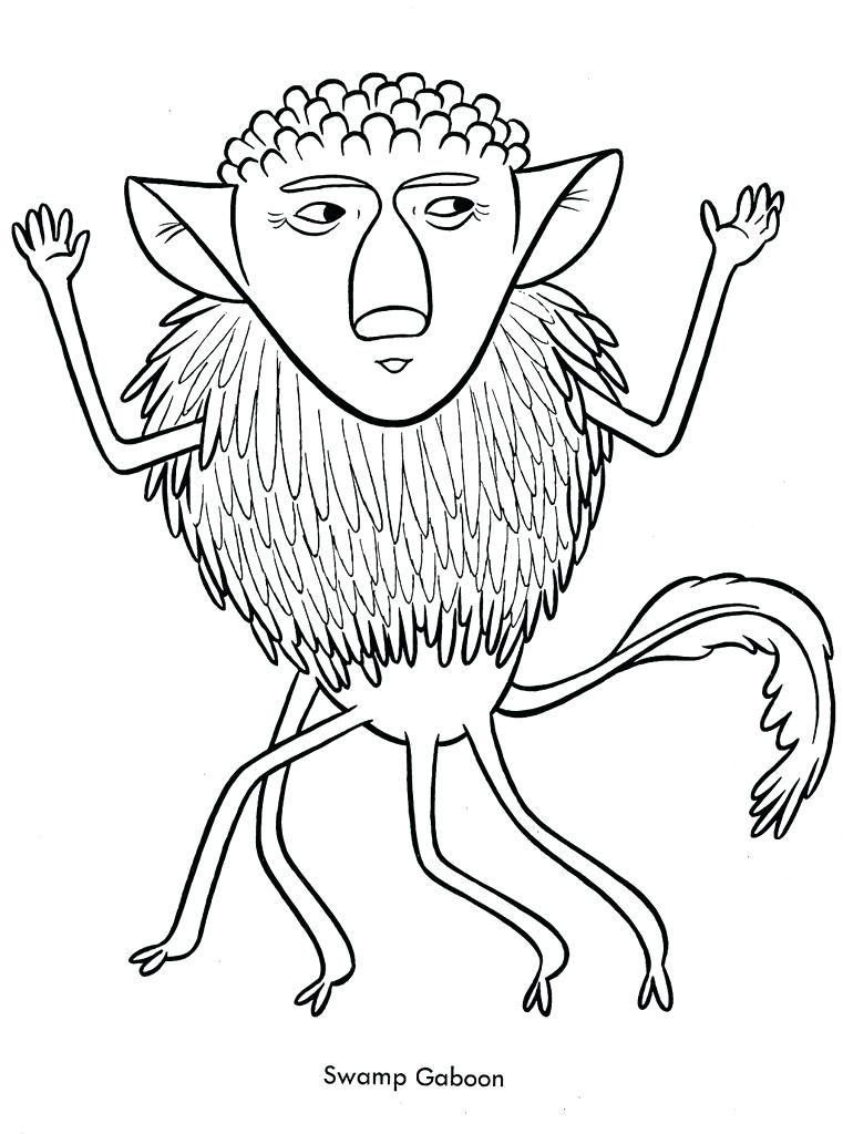761x1024 Funny Coloring Pages Funny Monsters Coloring Book Treasure Books