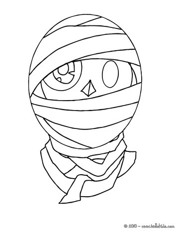 364x470 Funny And Scary Monsters Coloring Pages