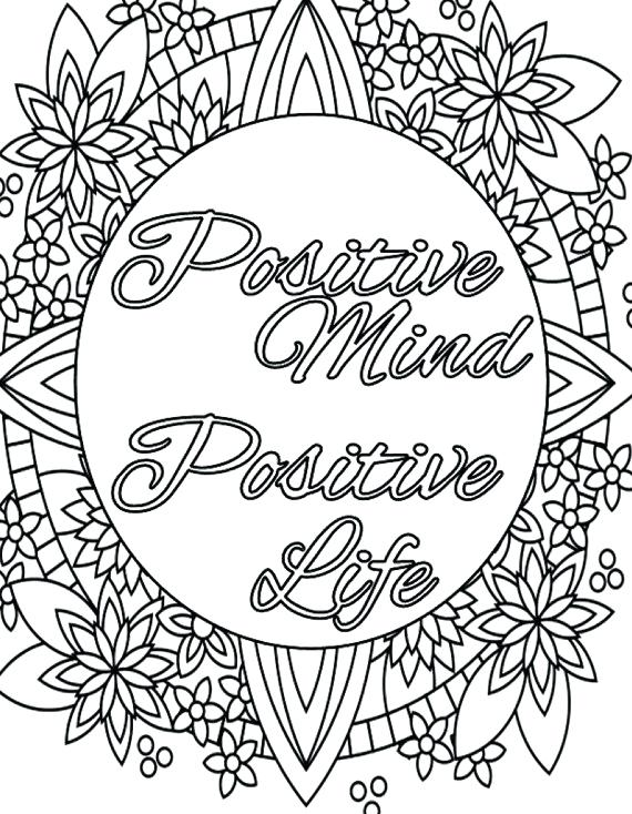 570x734 Inspirational Quotes Coloring Pages Plus Live Laugh Love Coloring