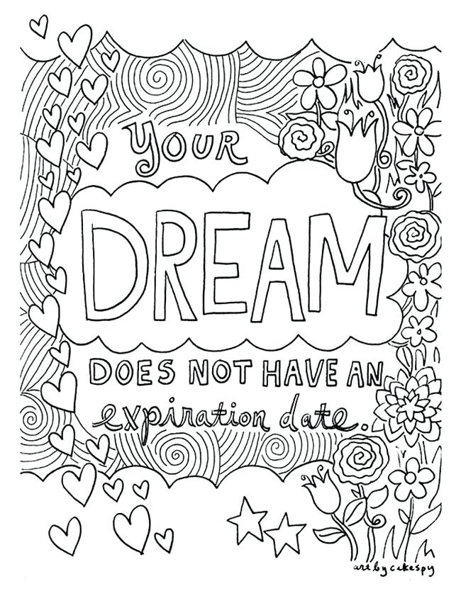 650x841 Printable Detailed Coloring Pages Quote Coloring Pages For Girls