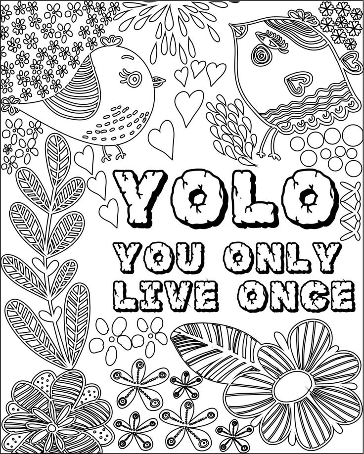 736x918 Best Adult Colouringquotes,saying,lettering,etc! Images