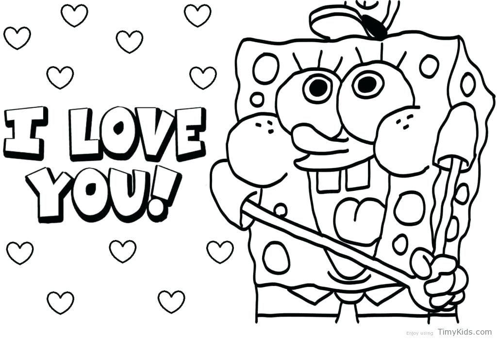 1024x698 Funny Spongebob Squarepant Coloring Pages For Your Kids Bleupnr