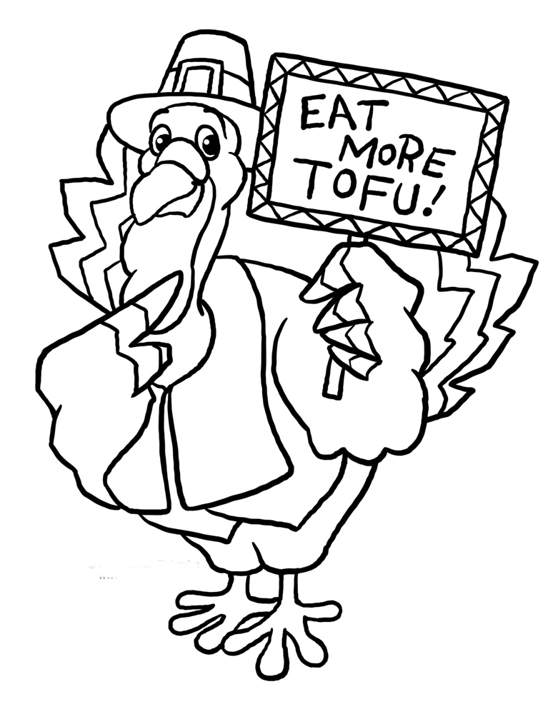 781x1000 Funny Thanksgiving Turkey Coloring Pages