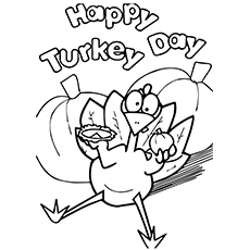 230x230 Top Turkey Coloring Pages For Toddlers