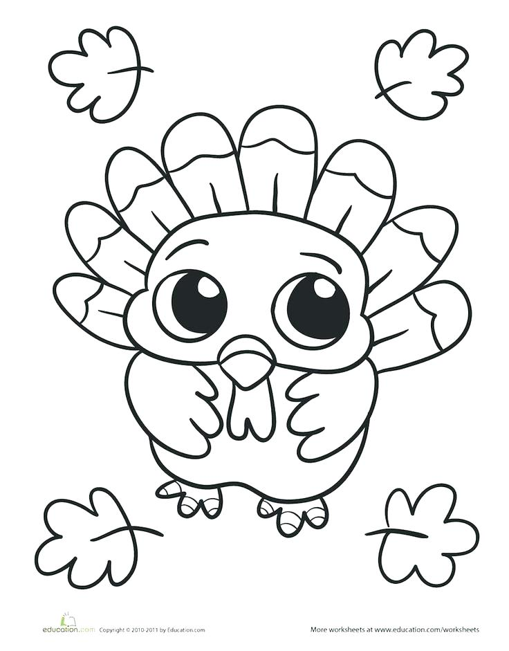 736x941 Turkey Coloring Pages Printable Funny Turkey Coloring Pages Free