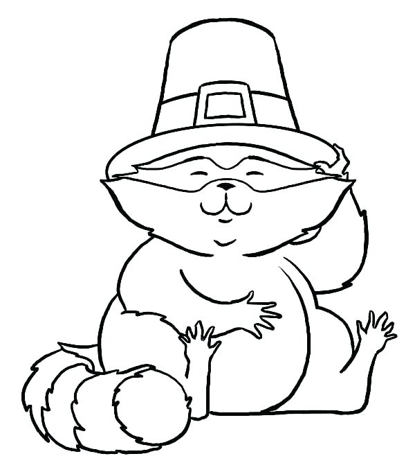 600x681 Charming Pilgrims Coloring Pages