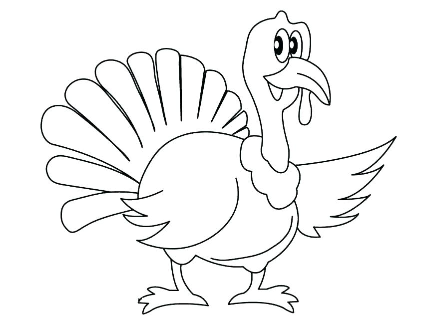 863x647 Funny Thanksgiving Coloring Pages