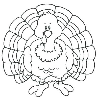 388x392 Funny Thanksgiving Coloring Pages Free Printable Turkey Coloring