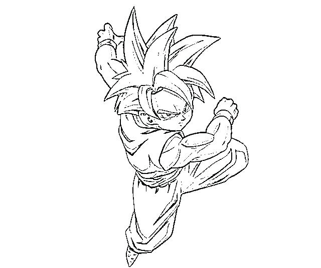 640x533 Dragon Ball Gt Coloring Pages Coloring Pages Dragon Ball Runaway