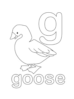 G Coloring Pages