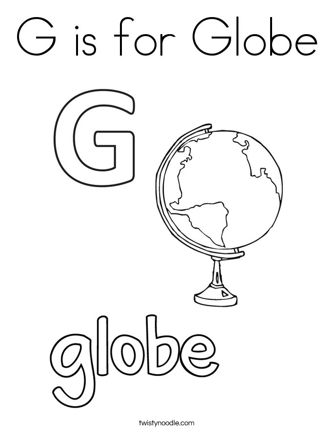 685x886 Letter G Coloring Pages