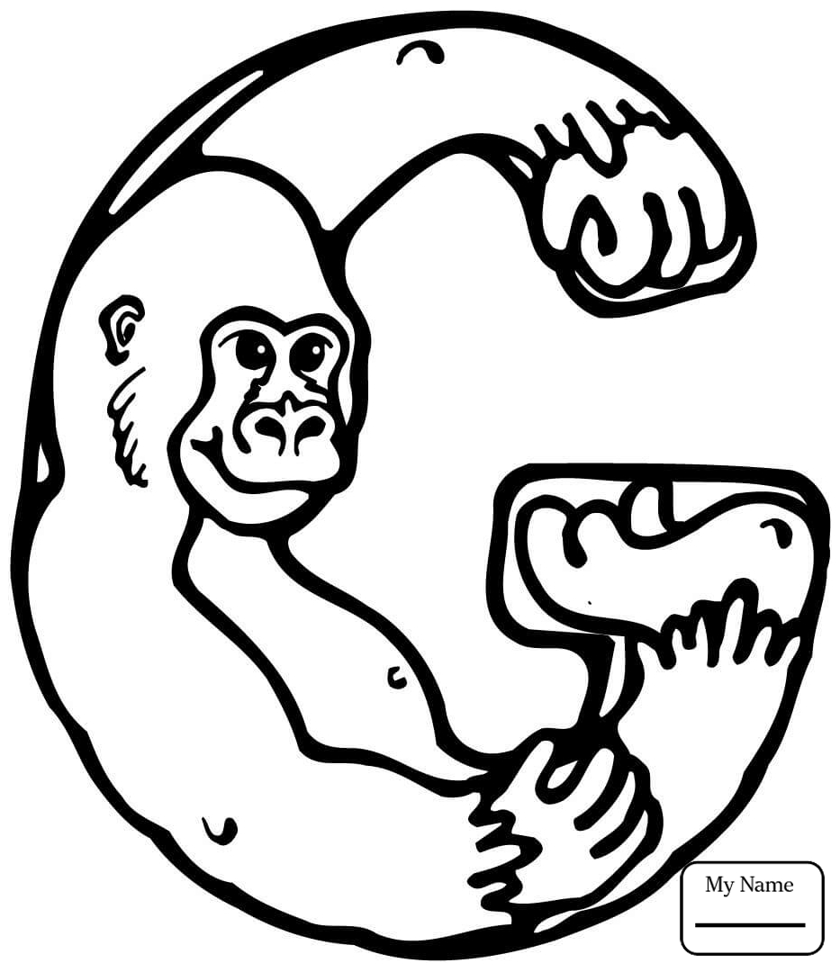 933x1080 Letter G Coloring Pages Free Printable For Kids Pictures Greek