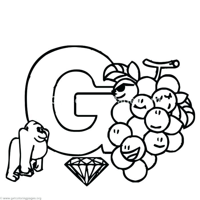 700x700 Letter H Coloring Pages Letter G Coloring Sheet Alphabet