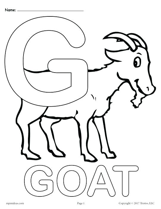 541x700 G Coloring Pages For Kids Letter G Alphabet Coloring Pages Free