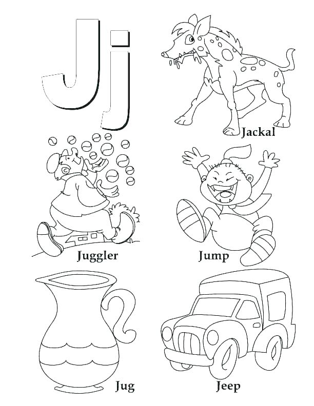 612x792 G Coloring Pages Letter G Coloring Page Coloring Trend Medium