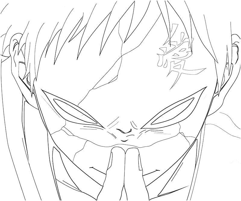 800x667 Naruto Gaara Face Surfing
