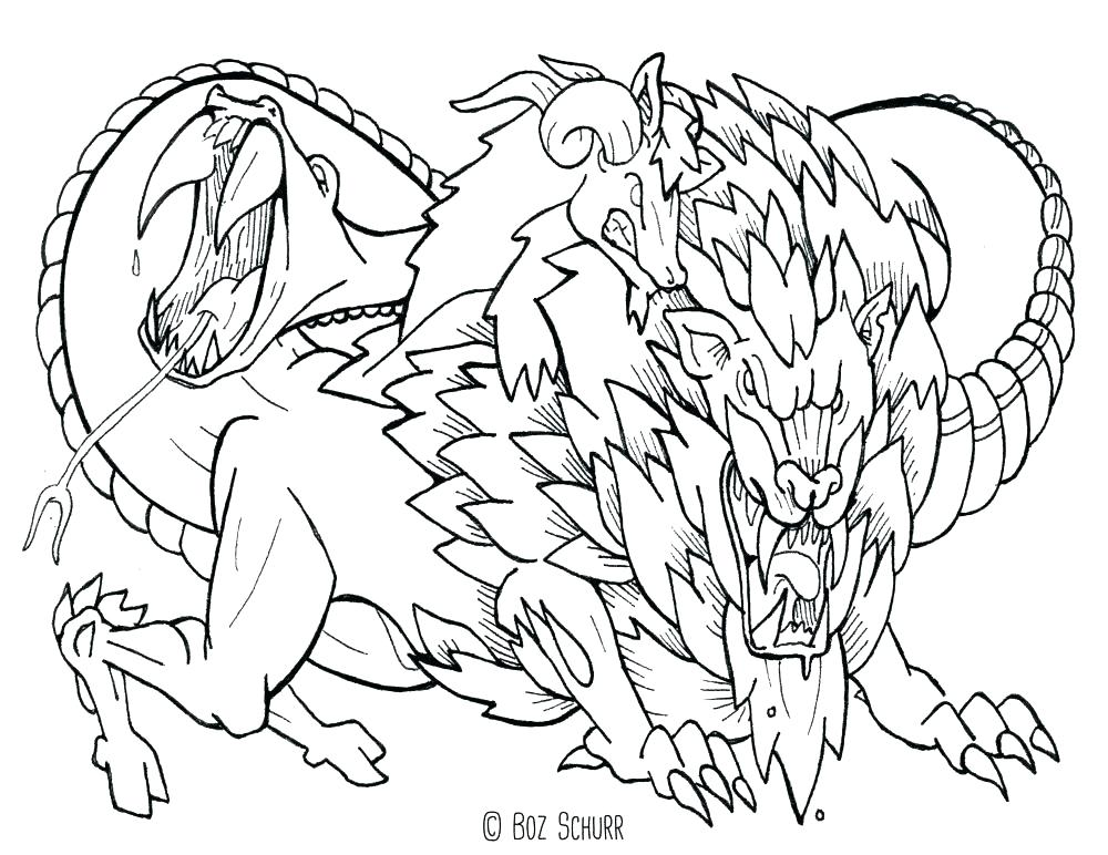 1000x772 Cyclops Coloring Pages Cyclops Coloring Page Medusa Coloring Pages