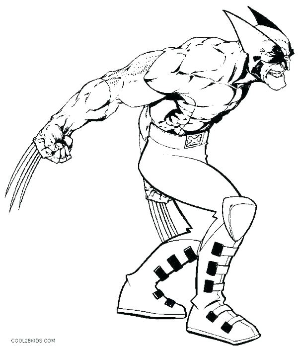 600x702 Cyclops Coloring Page