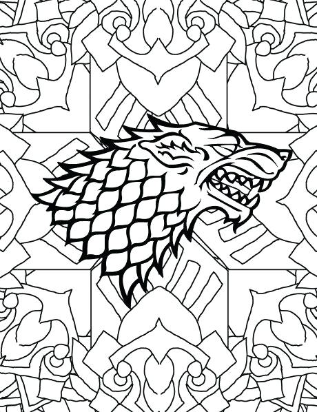 460x598 Game Of Thrones Coloring Book As Awesome Game Thrones Coloring