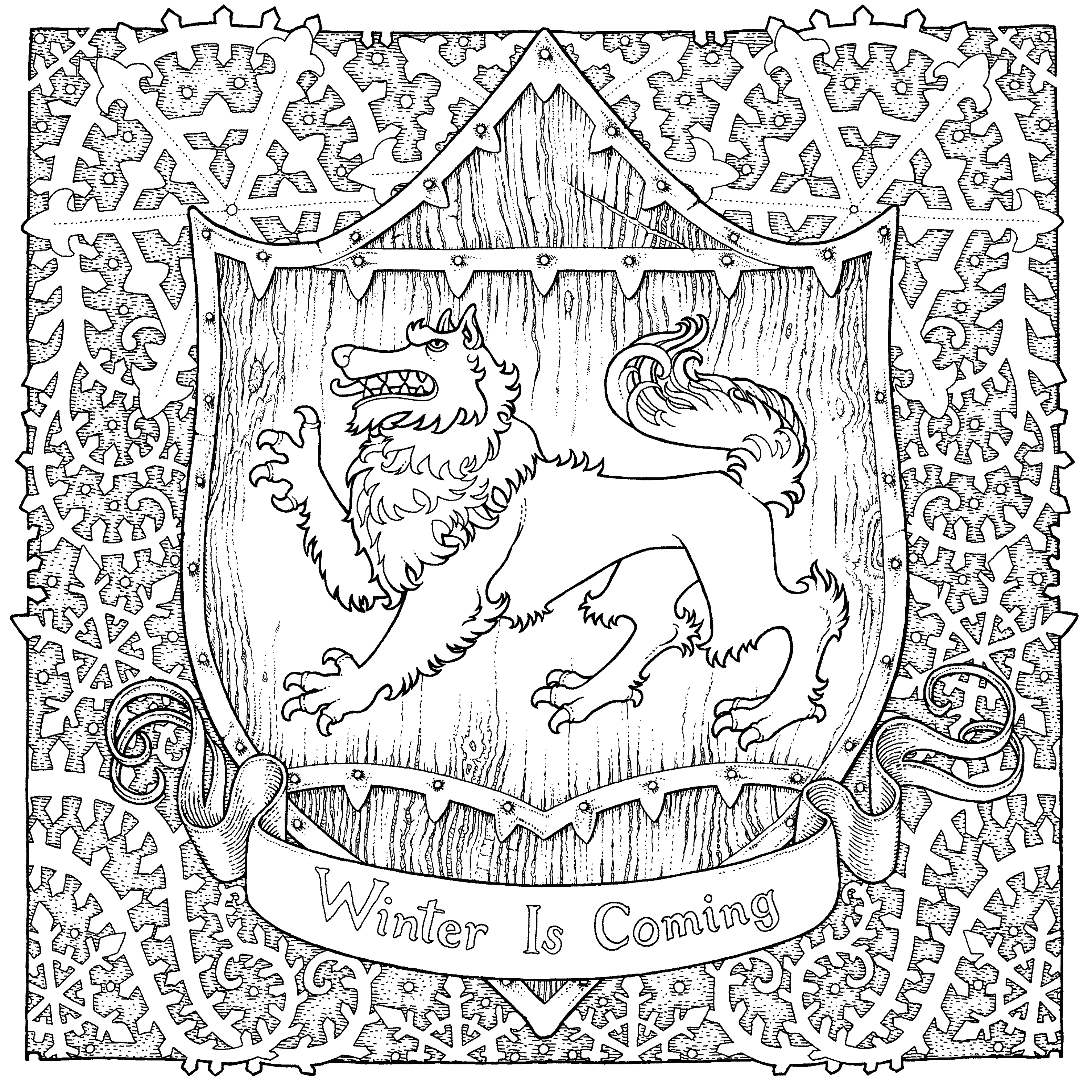Game Of Thrones Coloring Pages At Getdrawings Com Free For