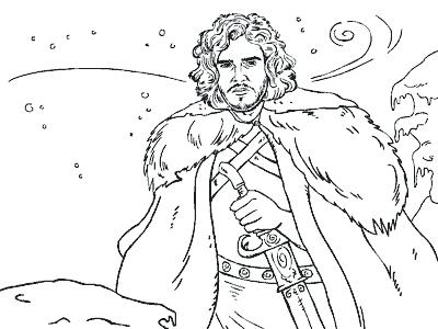 400x300 Game Of Thrones Coloring Book Pages