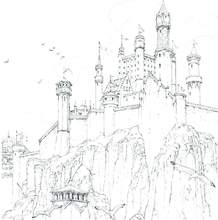 750x758 Game Of Thrones Coloring Pages