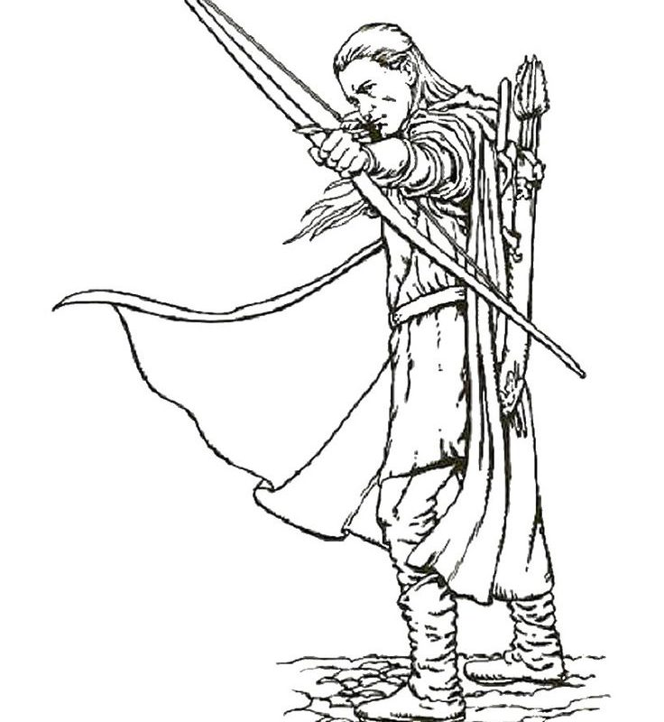 736x800 Outstanding Lord Of The Rings Coloring Pages Gandalf Pictures