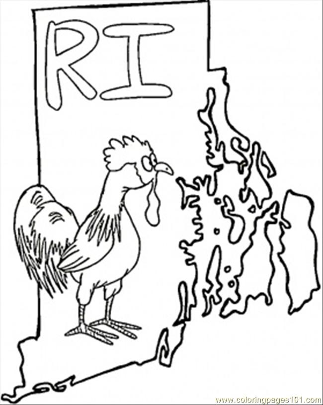 650x815 Rhole Island Coloring Page