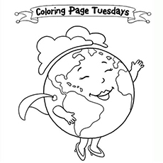 230x230 Top Free Printable Earth Day Coloring Pages Online