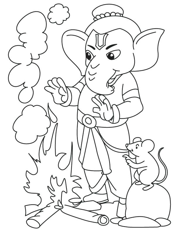612x792 Lord With Fire Coloring Page Download Free Lord Lord With Fire