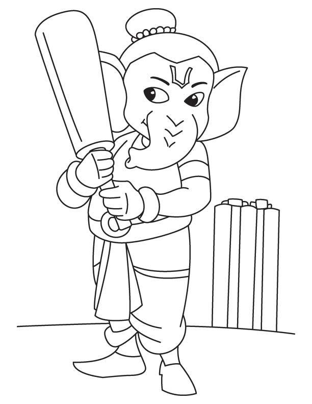 612x792 Ganesha Pictures Kids Download Free Ganesha Pictures
