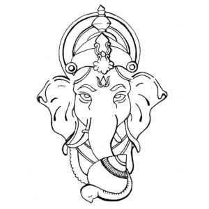 300x300 Colouring Pages For Kids This Ganesh Chaturthi Free Downloadables