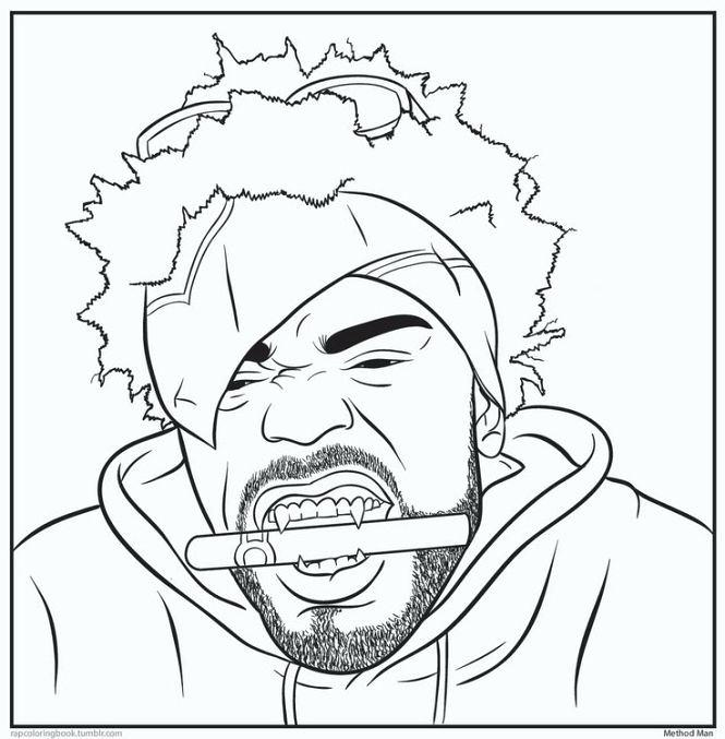 665x677 Gangsta Coloring Pages Gangsta Rap Coloring Book Pd On Hip Hop