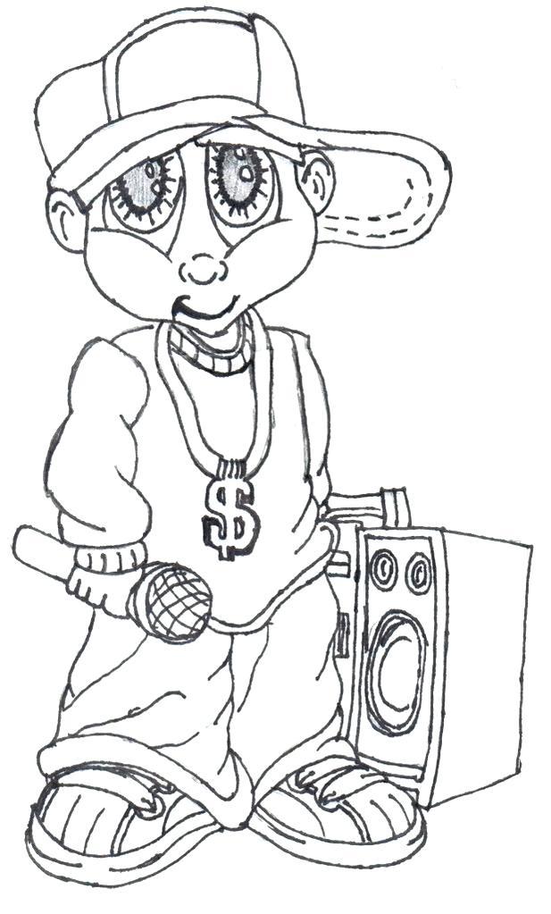 617x1023 Gangsta Coloring Pages Really Cool Gangsta Cartoon Drawings