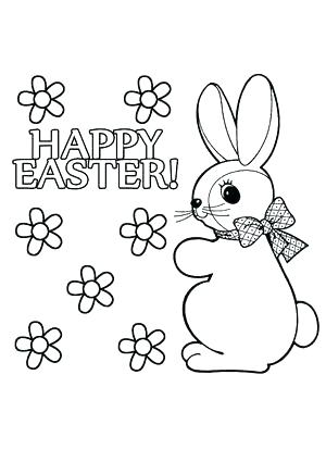 300x425 Bunny Pictures To Color Free Printable Bunny Coloring Pages